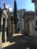 Cemetery La Recoleta Royalty Free Stock Photography