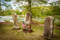 Cemetery Landscape Royalty Free Stock Images