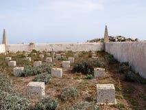 Cemetery of Lavezzi Royalty Free Stock Photo