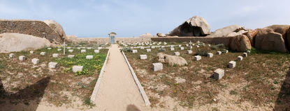 Cemetery of Lavezzi Royalty Free Stock Photography