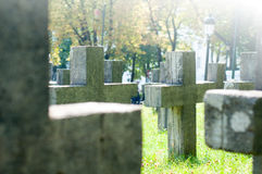 Cemetery Royalty Free Stock Image