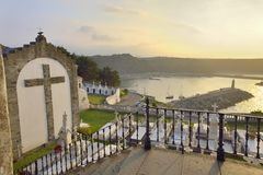 Cemetery of Luarca Royalty Free Stock Photography