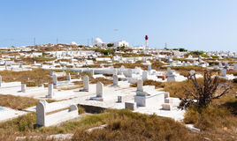 The cemetery of Mahdia Stock Photos
