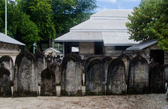 Cemetery at Maldives Royalty Free Stock Photo