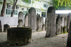 Cemetery at Maldives Stock Photography