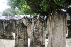 Cemetery at Maldives Royalty Free Stock Images