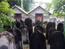 Cemetery at Male (Maldives). Ancient cemetery at Male (Maldives Stock Photos