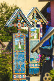 Cemetery in Maramures Stock Images
