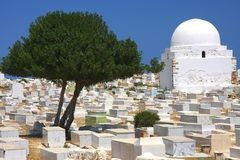 Cemetery in Monastir Stock Images