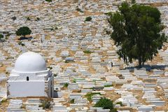 Cemetery in Monastir Stock Image