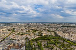 Cemetery Montparnasse in Paris France. Travel and architecture background Stock Photography