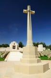 Cemetery monument. stock photo