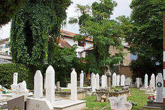 Cemetery in Mostar Stock Images