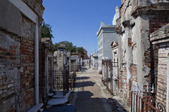 Cemetery In New Orleans , Louisiana Royalty Free Stock Photography