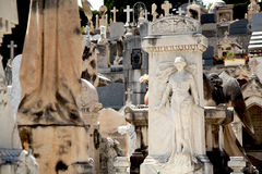 Cemetery in Nice Stock Images