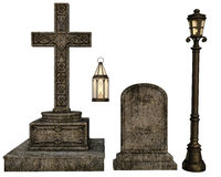 Cemetery objects Stock Image