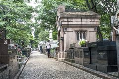 Cemetery Of Consolacao Royalty Free Stock Image