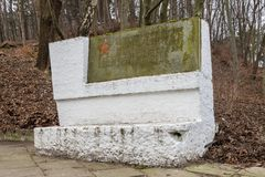 Free Cemetery Of Soldiers Of The Soviet Army Who Died In The Struggle For The Liberation Of The Sopot Royalty Free Stock Photos - 144772588