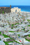 Cemetery in old San Juan. Puerto Rico stock photography