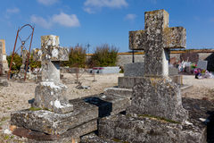 Cemetery of Paroy Royalty Free Stock Images
