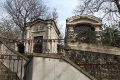 Cemetery Pere Lachaise. Stock Photos
