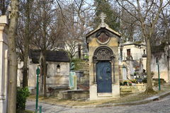 Cemetery Pere Lachaise. Stock Photography