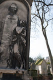 Cemetery Pere-Lachaise Royalty Free Stock Photo