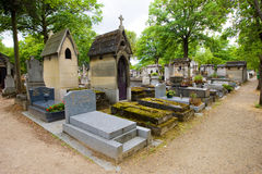 Cemetery Pere Lachaise Royalty Free Stock Photos