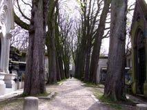 Cemetery Pere Lachaise Stock Photos