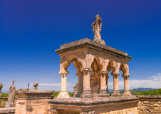 Cemetery in Provence Royalty Free Stock Photo