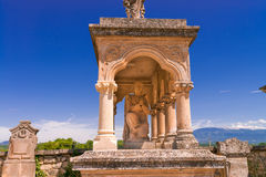 Cemetery in Provence Stock Photo