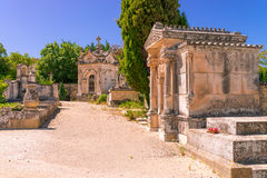 Cemetery in Provence Stock Images