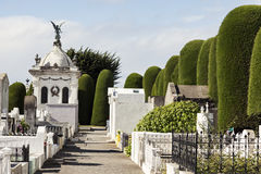 Cemetery of Punta Arenas Stock Photo