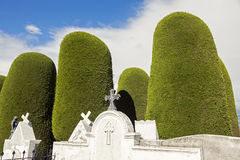 Cemetery of Punta Arenas Royalty Free Stock Images