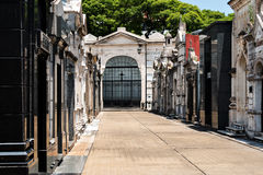 Cemetery Recoleta, Buenos Aires Argentine Stock Images