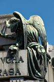 Cemetery Recoleta, Buenos Aires Argentine. Historic cemetery Recoleta with many sculptures, Buenos Aires Argentine royalty free stock photography