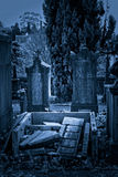 Cemetery ruins Royalty Free Stock Images