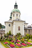 Cemetery Salzburg Stock Photos