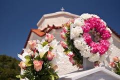 Cemetery on Samos Royalty Free Stock Photo
