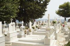 Cemetery on Samos Stock Image