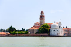 Cemetery on San Michele island in Venice Royalty Free Stock Photo
