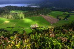 Cemetery on Sao Miguel, Azores archipelago (Portugal) Royalty Free Stock Photos