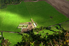 Cemetery on Sao Miguel, Azores island (Portugal) Stock Photography