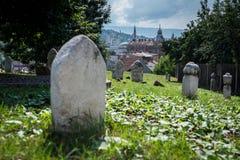 Cemetery in Sarajevo Stock Image