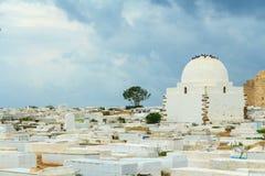 Cemetery Sidi el-Mezeri Stock Image