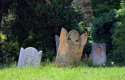 Cemetery in The South of France Royalty Free Stock Image