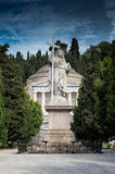 Cemetery. Of Staglieno in Genoa Royalty Free Stock Photography