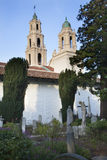 Cemetery Statues Mission Dolores San Francisco Stock Photography