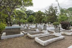 Cemetery in Tanzania Royalty Free Stock Image