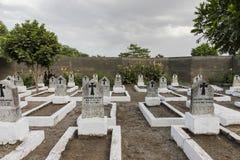 Cemetery in Tanzania Stock Photo